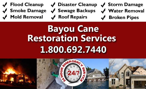 Bayou cane LA restoration services