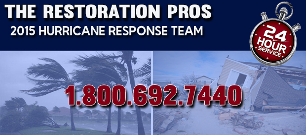 2015 hurricane response team restoration pros louisiana
